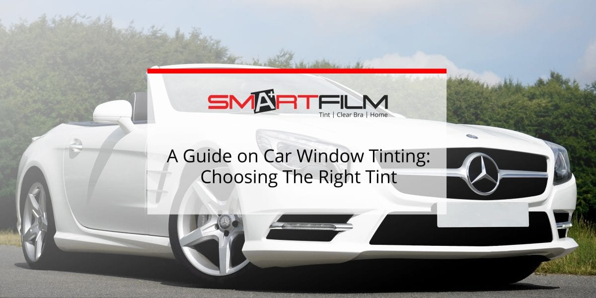what window tinting is