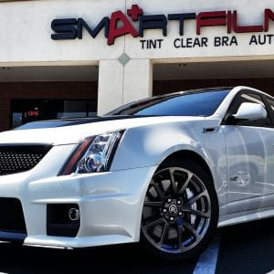Cadillac CTS v Clear Guard