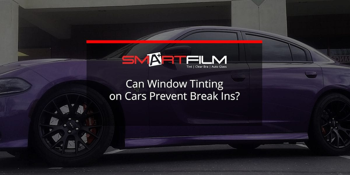 window tinting on car