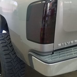 Chevrolet Silverado taillight Clear Bra in AZ