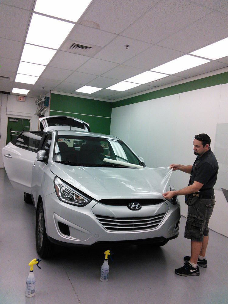Paint Protection Film Hyundai Tucson car Clear Bra Paint Protection Film