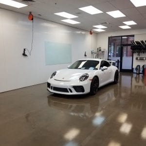 White Porche Clear Bra in Mesa AZ