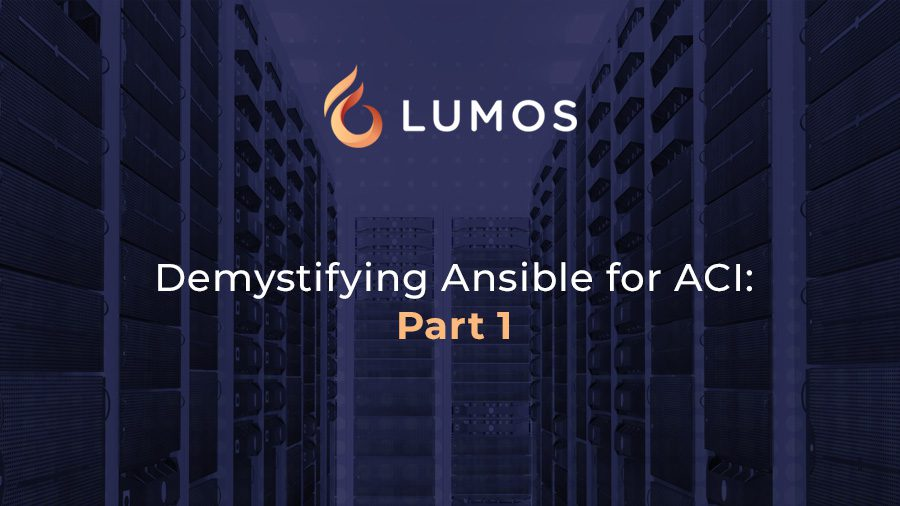 Demystifying Ansible for ACI- Part 1
