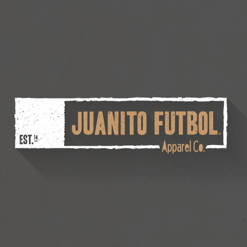 Juanito futbol logo for creatitive