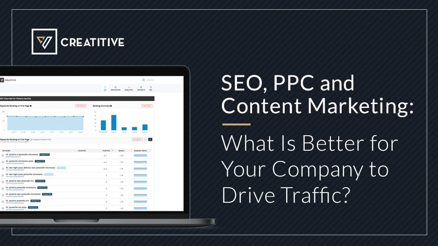 SEO, PPC and Content Marketing What Is Better for Your Company to Drive Traffic
