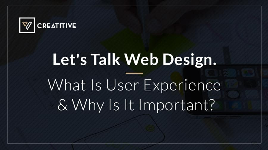user experience and user experience design
