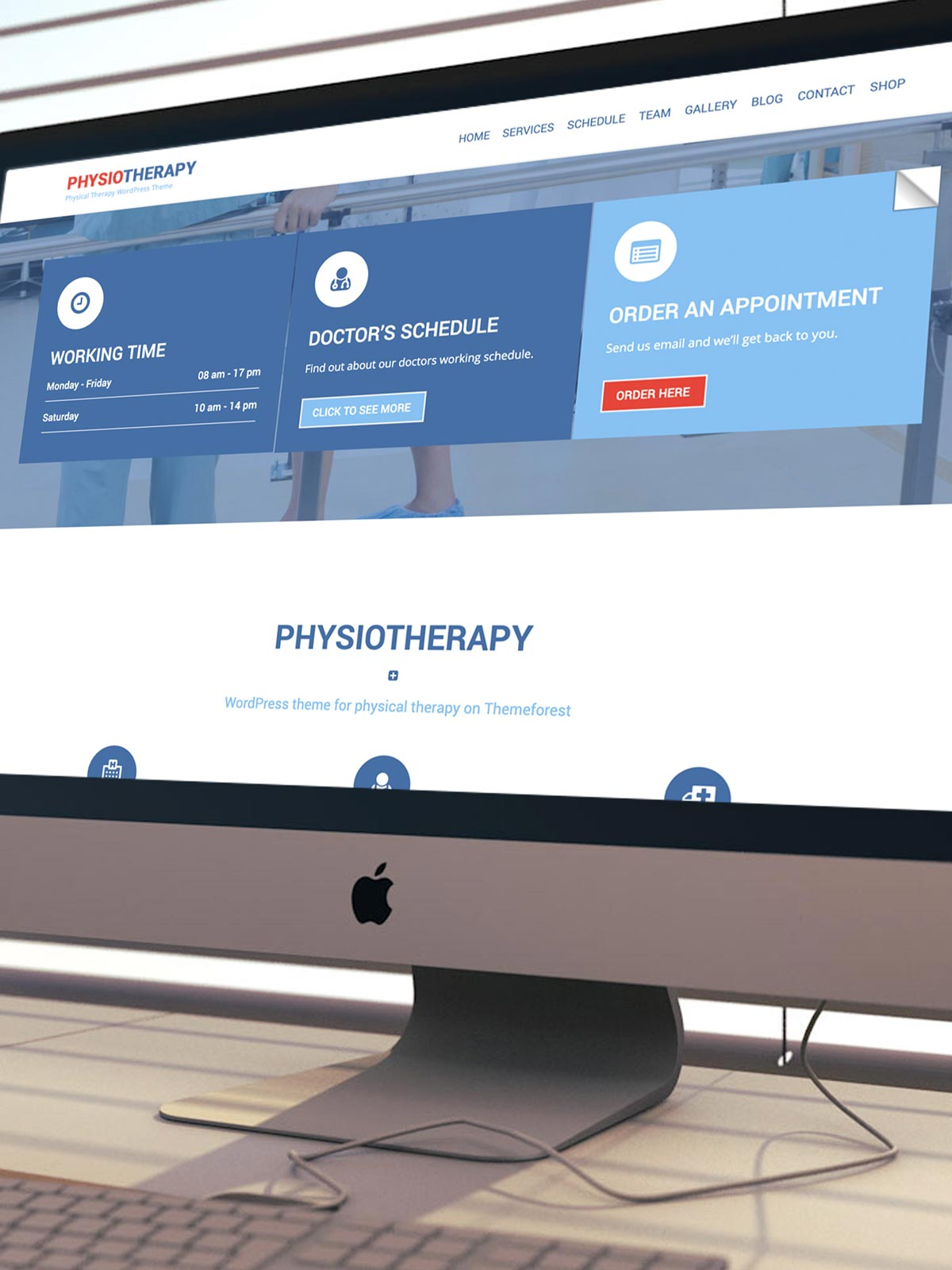 sports physical therapy graphic design chandler